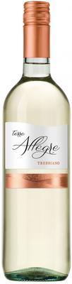 Вино белое полусухое  «Cielo e Terra Terre Allegre Trebbiano»