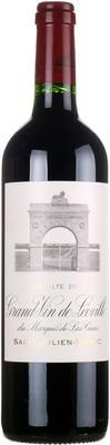 Вино красное сухое «Chateau Leoville-Las-Cases, 0.75 л» 2007 г.