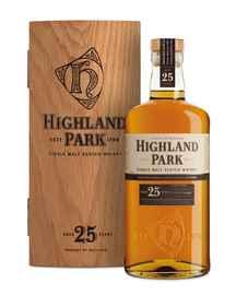 Виски шотландский «Highland Park 25 Year Old» в подарочной упаковке