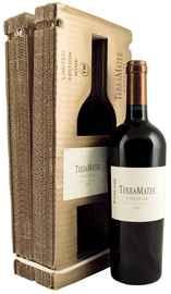 Вино красное сухое «TerraMater Unusual Mighty Zinfandel» 2009 г., в подарочной коробке