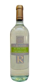 Вино белое сухое «Il Roccolo Trebbiano Rubicone» 2013 г.