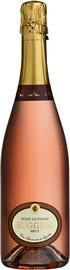 Вино игристое розовое брют «Ruggeri Rose di Pinot Brut»