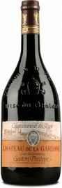 Вино красное сухое «Chateau de la Gardine Chateauneuf-du-Pape Cuvee des Generation Gaston-Philippe» 2001 г.