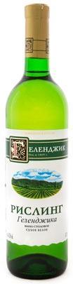 Вино столовое белое сухое «Геленджик Рислинг»