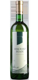 Вино белое полусладкое «Мысхако»