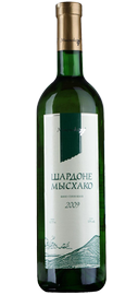 Вино белое сухое «Мысхако Шардоне» 2010 г.