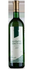 Вино белое сухое «Мысхако Шардоне» 2012 г.