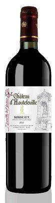 Вино красное сухое «Maison Bouey Chateau d'Hautefeuille»
