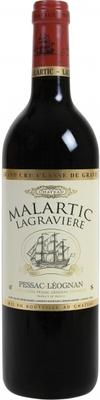 Вино красное сухое «Chateau Malartic Lagraviere Red»
