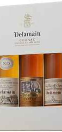Коньяк «Delamain Trio Pale & Dry, Vesper, Tres Venerable» в подарочной упаковке