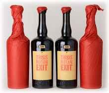 Набор из 6 бутылок красного сухого вина «Sine Qua Non This is not an Exit 6 Syrah» 2009 г.