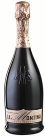 Вино игристое розовое полусухое «La Montina Franciacorta»
