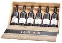 Набор из 6 красных сухих вин «Gaja 6 Vintage 2 Barbaresco, 2 Sperss, 2 Conteisa» 1999 г.
