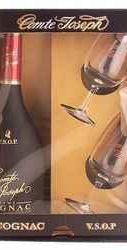 Коньяк французский «Comte Joseph VSOP» + 2 бокала
