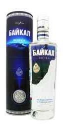 Водка «Байкал» в тубусе