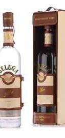 Водка «Beluga Allure» в кожаной подарочной коробке