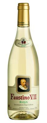Вино белое сухое  «Faustino VII»