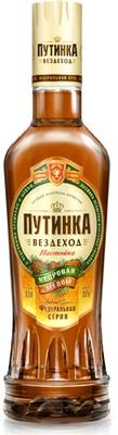 Настойка «Путинка Вездеход кедровая с медом»