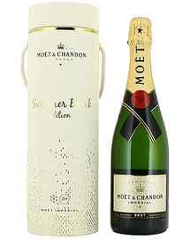 Шампанское белое брют «Moet & Chandon Brut Imperial» в подарочной упаковке (летнее издание)