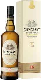 Виски шотландский «Glen Grant 16 yo» в подарочной коробке