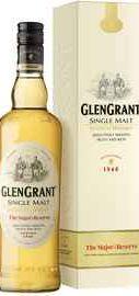 Виски швейцарский «Glen Grant 5 yo» в подарочной упаковке