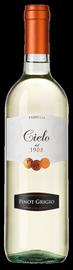 Вино белое полусухое  «Cielo e Terra Pinot Grigio» 2014 г.