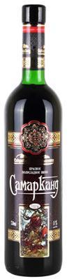 Вино красное полусладкое «Самарканд»