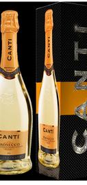 Вино игристое белое сухое «Canti Prosecco» 2014 г., в подарочной упаковке