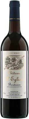 Вино красное сухое «Chateau L'Eglise» 2013 г.