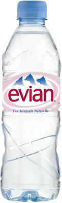 Вода негазированная «Evian, 0.33 л»