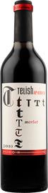 Вино красное полусухое «Telish Merlo» 2010 г.
