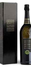 Вино игристое белое брют «Valdobbiadene Prosecco Superiore Cuvee del Fondatore Graziano Merotto» в подарочной упаковке.