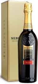 Вино игристое белое брют «Valdobbiadene Prosecco Superiore Brut Bareta» в подарочной упаковке.