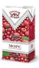 Морс Северная ягода «Малина - клюква»