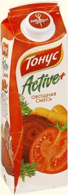 Сок «Тонус Актив+ томат»