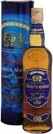 Виски шотландский «Glen Scanlan 12 Years Old» в подарочной упаковке.