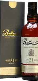 Виски шотландский «Ballantine's 21 Years Old» в подарочной упаковке