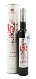 Вино столовое десертное красное «Ice Wine Каберне» в тубе