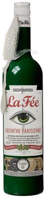 Абсент «La Fee Absinthe Parisienne, 0.75 л» в подарочной упаковке с абсентной ложкой.