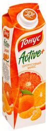 Сок «Тонус Актив+ цитрусовый»