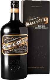 Виски шотландский «Black Bottle» в подарочной упаковке.