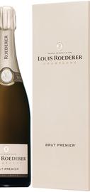 """Шампанское белое брют «Brut Premie» в подарочной упаковке """"Делюкс""""."""