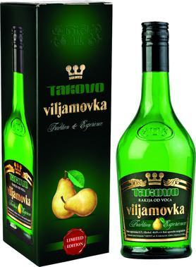 Ликер «Takovo Viljamovka» в подарочной упаковке
