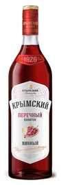 Винный напиток красный сладкий «Крымский Перечный»