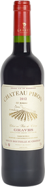 Вино красное сухое «Chateau Piron» 2012 г.
