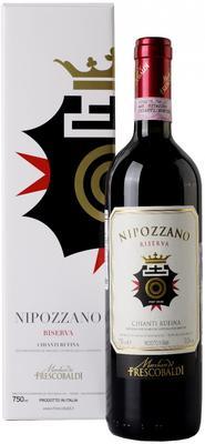Вино красное сухое «Marchesi de Frescobaldi Nipozzano Riserva, 0.75 л» 2011 г.,  в подарочной упаковке