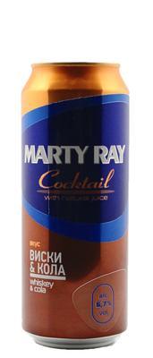 Пивной напиток «Marty Ray Coctail »