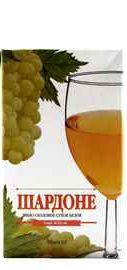 Вино столовое белое сухое «Виктория Торговый Дом Шардоне»