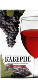 Вино столовое красное сухое «Виктория Торговый Дом Каберне»