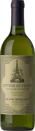 Вино белое полусладкое «Lettres de France Semi-sweet»